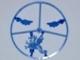 Part No: 4502w  Name: Minifigure, Plume Wheel Sprue Complete, Dragon