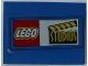 Part No: 4515pb018  Name: Slope 10 6 x 8 with LEGO Logo and Studios Pattern (Sticker) - Set 3432