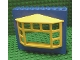 Part No: 4823c02  Name: Fabuland Building Wall 2 x 10 x 7 with Yellow Bay Window