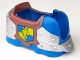 Part No: 51710pb01  Name: Duplo Animal Accessory Horse Barding with Lion and Crown Pattern