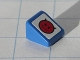Part No: 54200pb015L  Name: Slope 30 1 x 1 x 2/3 with Red Devil Smiley Pattern Model Left (Sticker) - Set 8120
