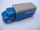 Part No: 651pb01c01  Name: HO Scale, Mercedes Box Truck with Gray Top