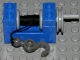 Part No: 73037c02  Name: String Reel Winch 2 x 4 x 2 (Light Gray Drum) with String and Dark Gray Hook with Towball