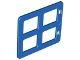Part No: 90265  Name: Duplo Door / Window Pane 1 x 4 x 3 with Four Same Sizes Panes Square Corners