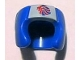 Part No: 96204pb01  Name: Minifigure, Headgear Helmet Boxing with Team GB Logo Pattern