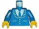 Part No: 973p18c01  Name: Torso Suit and Tie Pattern / Blue Arms / Yellow Hands