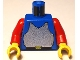Part No: 973p40c02  Name: Torso Castle Breastplate Pattern / Red Arms / Yellow Hands