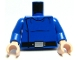 Part No: 973pb0443c01  Name: Torso SW Republic Cruiser Crew Pattern / Blue Arms / Light Nougat Hands