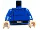 Part No: 973pb0443c01  Name: Torso SW Republic Cruiser Crew Pattern / Blue Arms / Light Flesh Hands