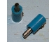 Part No: 996ac01  Name: Electric, Connector, 1-Way Male Rounded with Hollow Pin (Banana Plug)