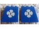 Part No: BA146pb01  Name: Stickered Assembly 4 x 2 x 3 with White Lucky Clover and Black Number 1 Pattern on Both Sides (Stickers) - Sets 316 / 775 - 1 Slope 75 2 x 2, 3 Brick 2 x 2