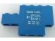 Part No: BA222pb01L  Name: Stickered Assembly 6 x 1 x 3 with White 'Gew. Lok.' Pattern Model Left Side (Sticker) - Set 7760 - 1 Brick 1 x 3, 1 Brick 1 x 4, 1 Brick 1 x 6