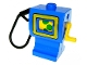 Part No: dpumpc01pb01  Name: Duplo Gas / Fuel Pump with Yellow Frame Pattern