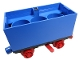 Part No: x488c01  Name: Train Battery Box Car with Switch and Red Wheels