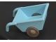 Part No: 2292c05  Name: Duplo Wheelbarrow with Dark Gray Wheels