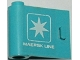 Part No: 3189pb001  Name: Door 1 x 3 x 2 Left with White 'MAERSK LINE' and Maersk Logo Pattern (Sticker)