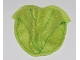 Part No: pouch10  Name: Belville Cloth Pouch, Leaf with Contrast Stitching