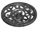 Part No: 15744  Name: Wheel Wagon Huge (43mm D.) Ornamental