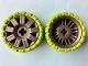 Part No: 47349c04  Name: Wheel 72 x 34 with Lime Tire 94 x 40 Balloon Offset Tread