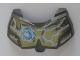 Part No: 98603pb008  Name: Large Figure Chest Armor Small with Chi and Gold (Lion) Pattern