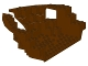 Part No: 2557  Name: Boat Hull Large Bow 12 x 16 x 5 1/3, Top