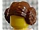 Part No: 30409  Name: Minifigure, Hair Female with 2 Buns (Princess Leia)