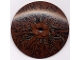 Part No: 3961pb02  Name: Dish 8 x 8 Inverted (Radar) with Tree Branch Pattern (Set 4502)