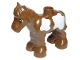 Part No: horse03c01pb05  Name: Duplo Horse Foal Baby with Large White Spots