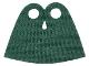 Part No: 36113  Name: Minifigure, Cape Cloth, Very Short, Tear-Drop Neck Cut - Spongy Stretchable Fabric