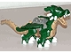 Part No: 5334c01pb01  Name: Duplo Dragon Large with Variably Colored Underside