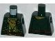 Part No: 973pb1389  Name: Torso Vest with Checkered Bandana and Ammunition Belt Pattern