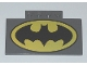 Part No: 15625pb001  Name: Slope, Curved 5 x 8 x 2/3 with Batman Logo Pattern