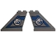 Part No: 2340pb069  Name: Tail 4 x 1 x 3 with Jurassic World Logo Pattern on Both Sides (Stickers) - Set 75928