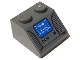 Part No: 3039pb066  Name: Slope 45 2 x 2 with Blue Navigation Screen Pattern (Sticker) - Set 8093