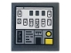 Part No: 3068bpb1330  Name: Tile 2 x 2 with Groove with Control Panel with Solitaire Game and Switches Pattern (Sticker) - Set 75935