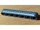 Part No: 32524pb039L  Name: Technic, Liftarm Thick 1 x 7 with 2 White Stripes Pattern Model Left Side (Sticker) - Set 42078