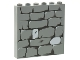 Part No: 3754pb07  Name: Brick 1 x 6 x 5 with Stone Wall Pattern