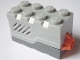Part No: 55206c02  Name: Electric, Sound Brick 2 x 4 x 2 with Light Bluish Gray Top and Roaring Animal Sound (Set 4958)