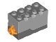 Part No: 55206c05  Name: Electric, Sound Brick 2 x 4 x 2 with Light Bluish Gray Top and Space Sound