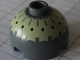 Part No: 553px3  Name: Brick, Round 2 x 2 Dome Top with Black Spots on Yellow Pattern (Buzz Droid)