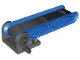 Part No: 58084c01  Name: Duplo Conveyor Belt Type 2 on 4 x 4 Base with Blue Sides and Black Belt