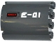 Part No: 6259pb026R  Name: Cylinder Half 2 x 4 x 4 with 'E-01' and 'DANGER' Pattern Model Right Side (Sticker) - Set 60092