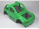 Part No: 85353c01pb01  Name: Duplo, Toolo Car Chassis Assembly with Bright Green Body and Dark Bluish Gray Interior