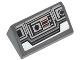 Part No: 85984pb051  Name: Slope 30 1 x 2 x 2/3 with SW Snowspeeder Controls Pattern (Sticker) - Set 75049