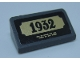 Part No: 85984pb251  Name: Slope 30 1 x 2 x 2/3 with '1932' Statue Plaque Pattern (Sticker) - Set 60207