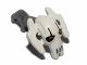 Part No: 87567pb02  Name: Minifigure, Head Modified SW General Grievous White Pattern