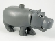 Part No: 98200c01pb01  Name: Duplo Hippo, Adult with Opening Jaw