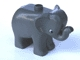Part No: elephc01pb01  Name: Duplo Elephant Baby Standing, Round Eye Pattern