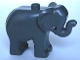 Part No: elephc01pb02  Name: Duplo Elephant Baby Standing, Angular Eye Pattern