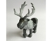 Part No: reindeerpb01  Name: Reindeer, Frozen with Light Bluish Gray Antlers and Fur around Neck Pattern (Sven)